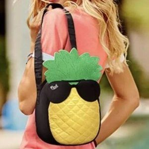 VS PINK Pineapple Lunch Bag Backpack Insulated NWT